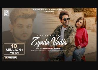 zyada-vdia-song