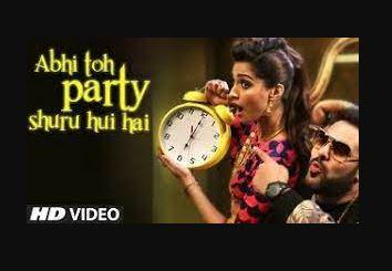 abhi-toh-party-shuru-hui-hai-song
