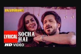 socha-hai-song